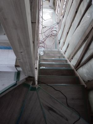 houseTT 階段Snowdesignoffice スノーデザインオフィス 静岡 住宅設計 設計事務所