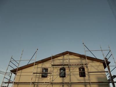 houseTT 外壁下地Snowdesignoffice スノーデザインオフィス 静岡 住宅設計 設計事務所