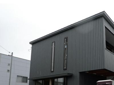 houseY 足場がはずれた Snowdesignoffice スノーデザインオフィス 静岡 住宅設計 設計事務所