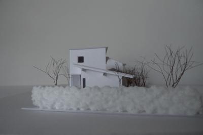 house M 模型 Snowdesignoffice スノーデザインオフィス 静岡 島田 藤枝 住宅設計 設計事務所