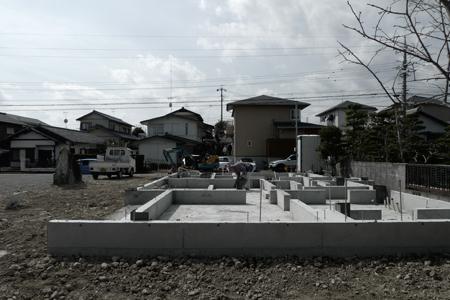 houseS 基礎1 Snowdesignoffice スノーデザインオフィス 静岡 島田 藤枝 住宅設計 設計事務所.JPG