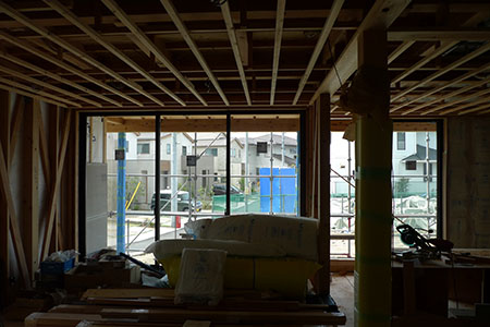 houseS 現場2 Snowdesignoffice スノーデザインオフィス 静岡 島田 藤枝 住宅設計 設計事務所