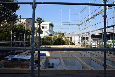 houseM 建前1 Snowdesignoffice スノーデザインオフィス 静岡  愛知 三重 岐阜住宅設計 店舗設計 設計事務所