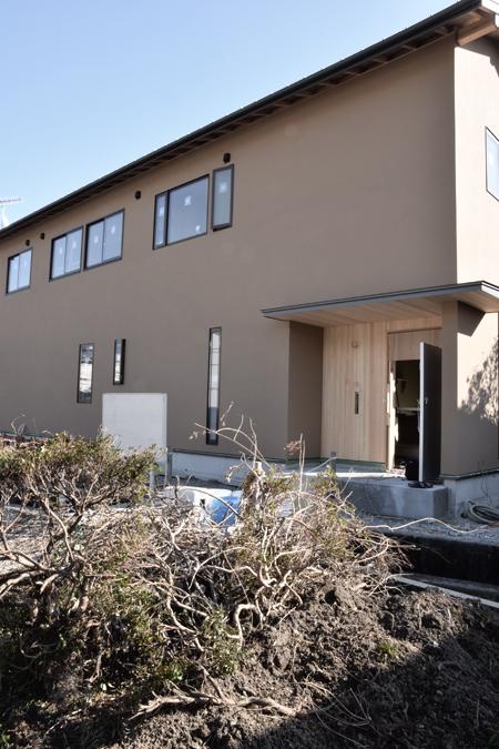 house M 足場ばらし snowdesignoffice 住宅 店舗 建築設計事務所 島田 藤枝 静岡 愛知 三重