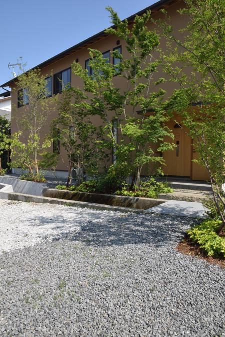 house M 続植栽2 snowdesignoffice 住宅 店舗 建築設計事務所 島田 藤枝 静岡 愛知 三重